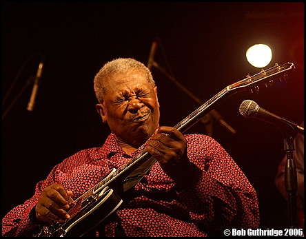 B.B. King - by Bob Guthridge