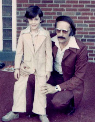 Young Richie and his Dad