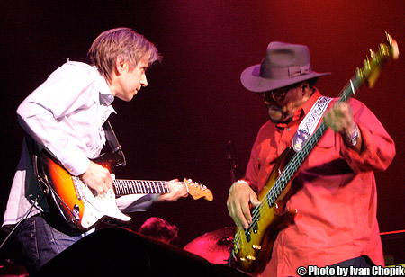 Eric Johnson and Billy Cox - Jimi Hendrix's Bassist