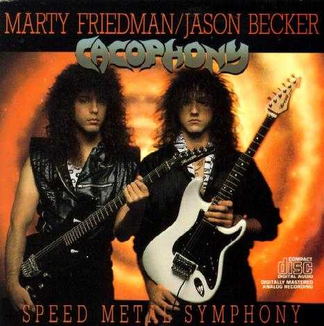 Cacophony's First Album - Speed Metal Symphony