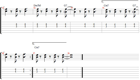Bass Lines and Guide Tones