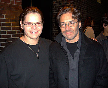 Ivan Chopik with Al Di Meola in 2007
