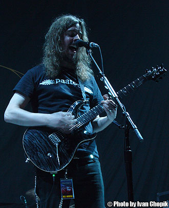 Mikael Akerfeldt of Opeth