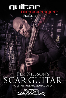 Scar Guitar - Guitar Instructional DVD with Per Nilsson of Scar Symmetry