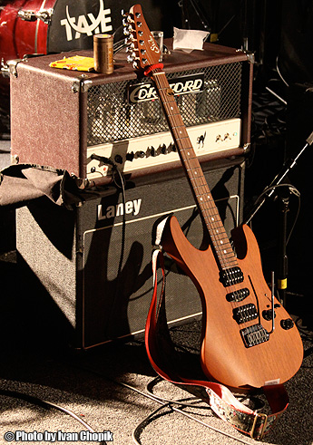 Guthrie Govan Gear - by Ivan Chopik
