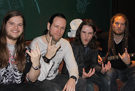 Chris Dingman Ivan Chopik and Dark Tranquillity