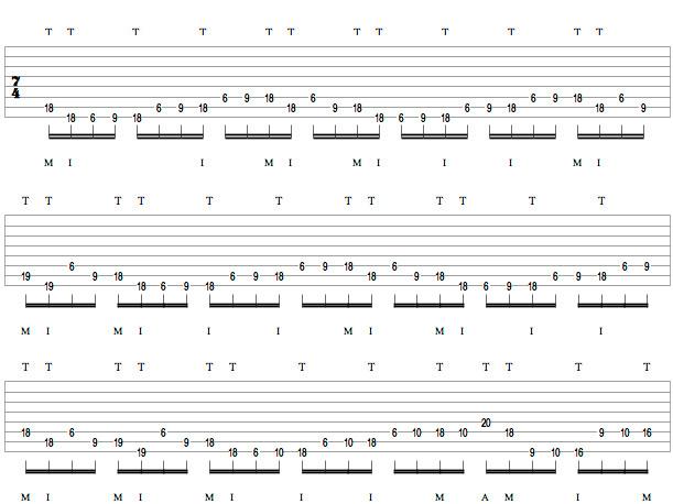 Tosin Abasi Masterclass - Tapping 1