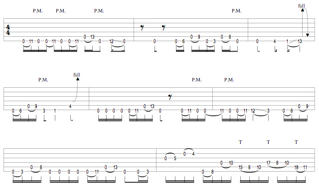 Periphery - Frak The Gods Breakdown Riff