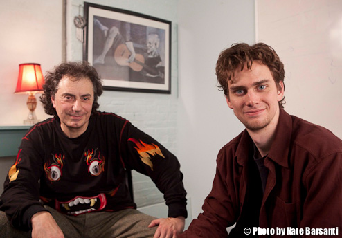 Luke Dennis and Pierre Bensusan