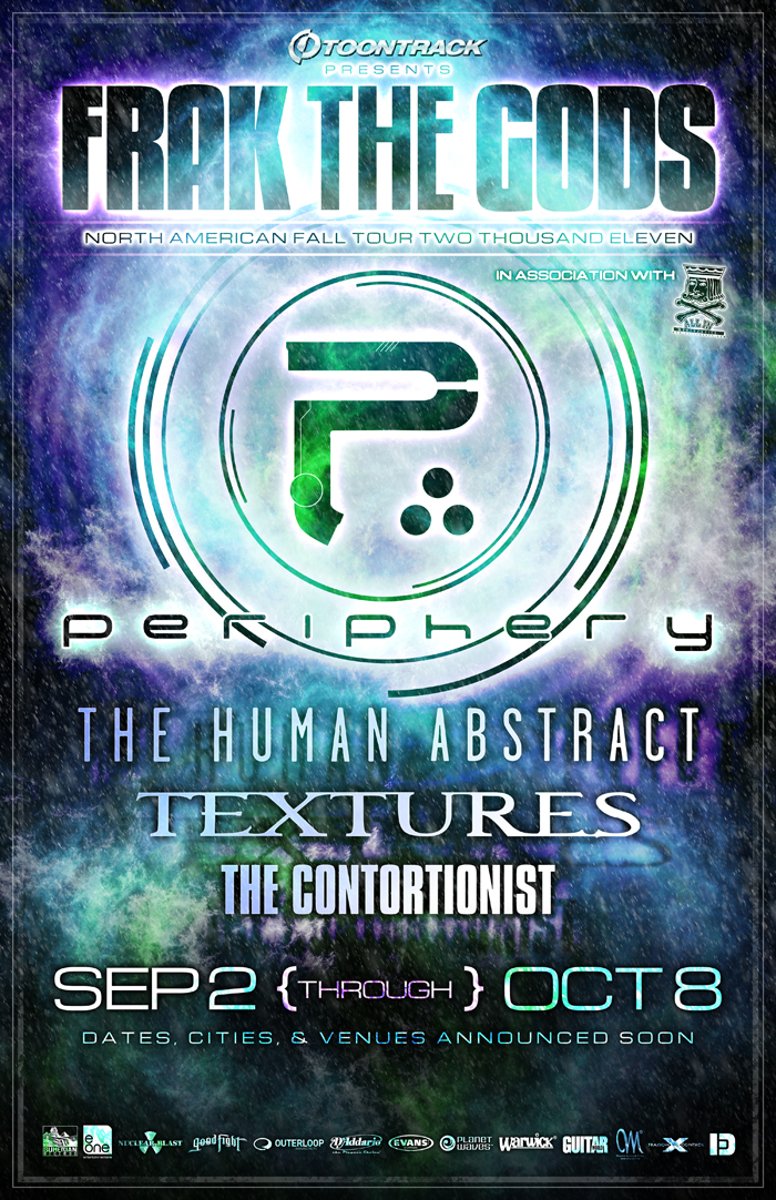 Periphery Frak The Gods Tour