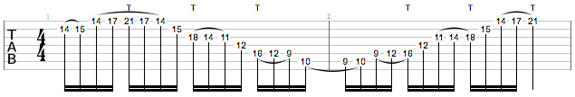 Tony MacAlpine Masterclass - Ex1