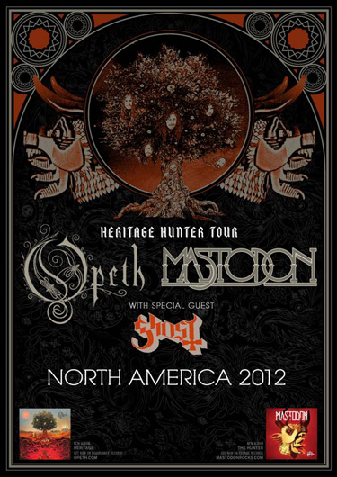 Heritage Hunter Tour (Opeth & Mastodon)
