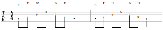 Don Lappin Lesson - Exercise 1