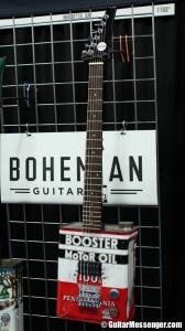 NAMM 2014 - Bohemian Guitars by Guitar Messenger