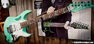 Ibanez Guitars by Guitar Messenger - NAMM 2014