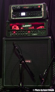 Francesco's Laney Amp/Cab & Line6 Effects Rig