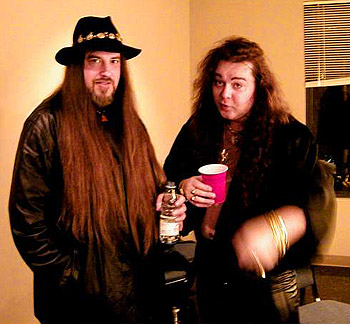 James Byrd and Yngwie Malmsteen in 2003