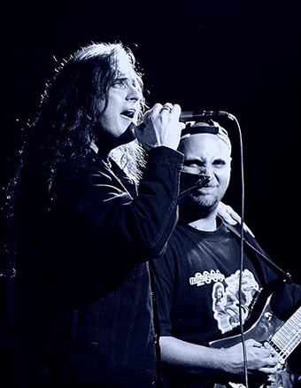 Marco with James LaBrie