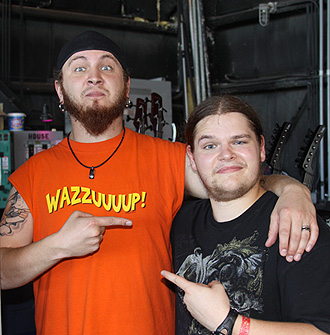 Joel Stroetzel and Ivan Chopik