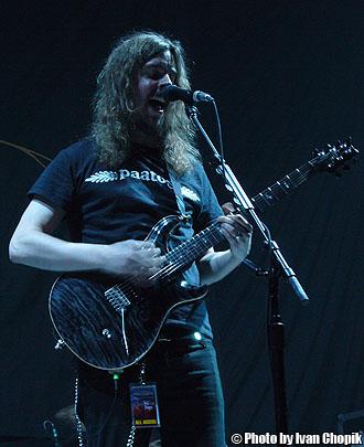 Mikael Akerfeldt of Opeth