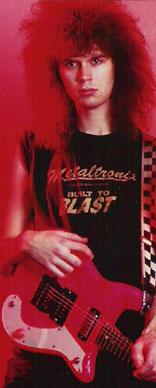 Paul in LA in 1987