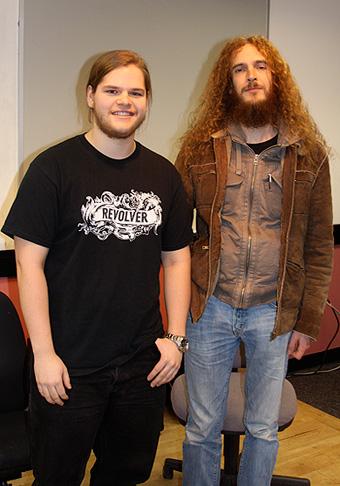 Guthrie Govan and Ivan Chopik