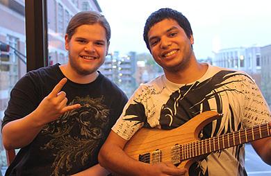 Ivan Chopik and Misha Mansoor