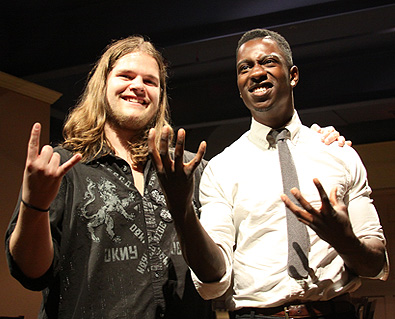 Tosin Abasi and Ivan Chopik