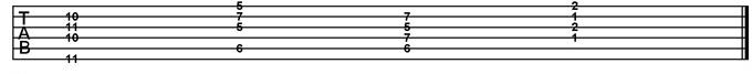 Basic Blues Subs Example 5