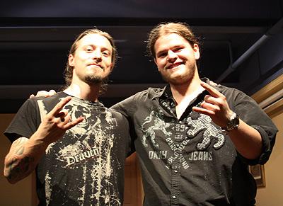 Francesco Artusato and Ivan Chopik