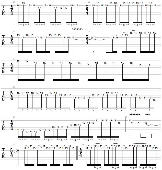 Tony MacAlpine Masterclass - Ex 4 c