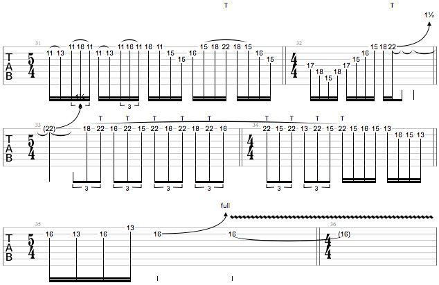 Tony MacAlpine Masterclass Ex 4d
