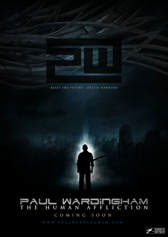 Paul Wardingham - The Human Affliction Teaser Poster