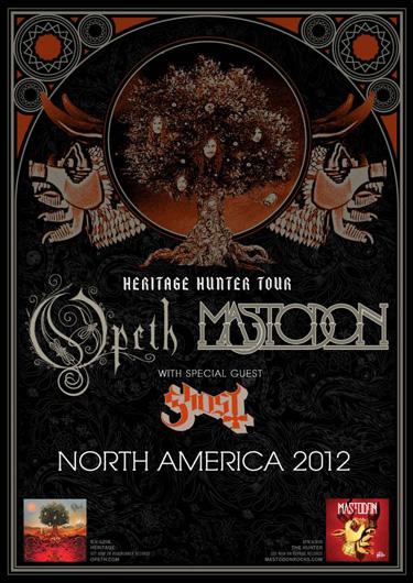 Heritage Hunter Tour (Opeth & Mastodon)