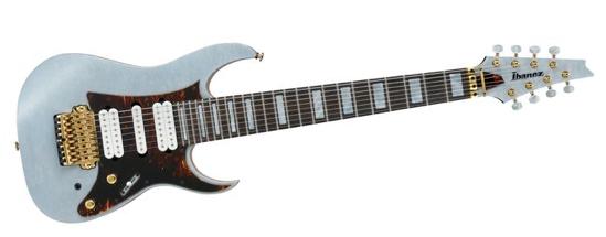Ibanez TAM100 Tosin Abasi Signature 8-string Electric Guitar Transparent Gray