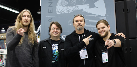 Ola Englund, Mike Fortin, Fredrik Thordendal, Ivan Chopik