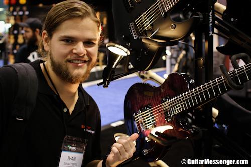 Vigier Guitars by Guitar Messenger - NAMM 2014