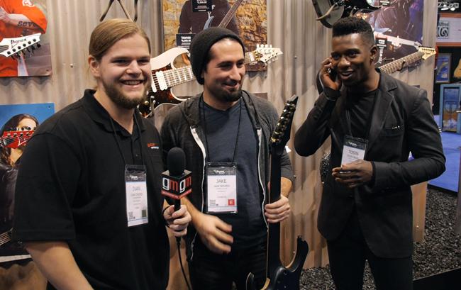 NAMM 2014 - Ivan Chopik, Jake Bowen, Tosin  Abasi
