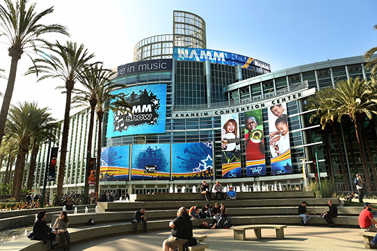 ANAHEIM, CA - JANUARY 21: A general view of atmosphere at the 2015 National Association of Music Merchants show media preview day at the Anaheim Convention Center on January 21, 2015 in Anaheim, California. (Photo by Jesse Grant/Getty Images for NAMM)